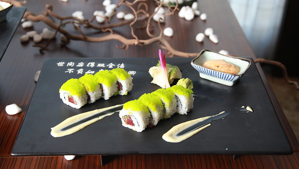при приготовлении суши используется