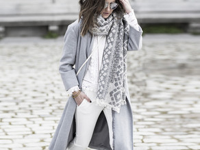 Советы по стилю, что носить с серым пальто - серые пальто
