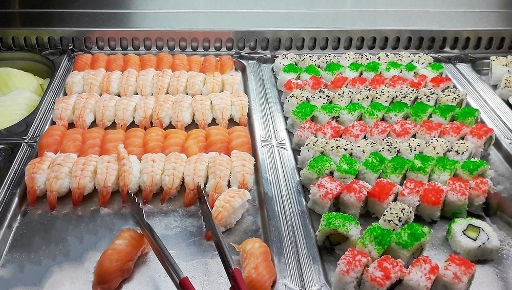 Маки суши требует больше усилий