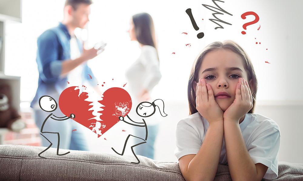 Как мне поговорить с моим ребенком о разводе?