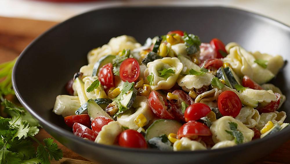 Лучшие салаты тортеллини - разные рецепты!