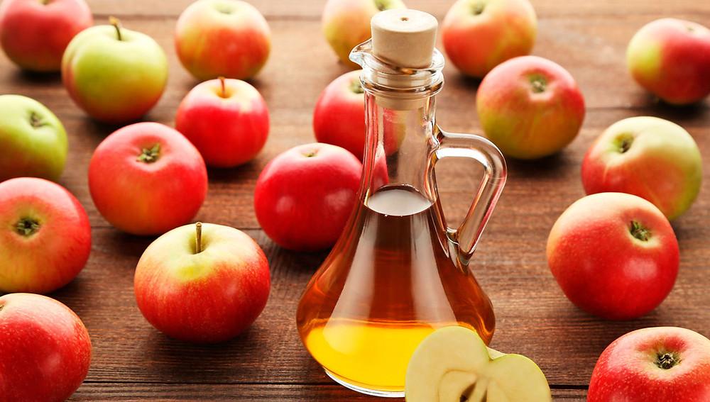 Промыть яблочным уксусом.