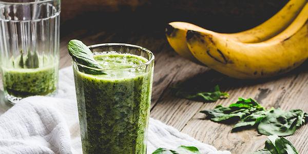 Смузи со шпинатом и бананом Энергетический коктейль