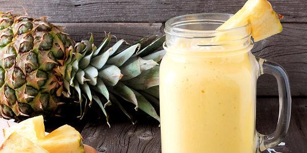 Очищающий смузи с ананасом