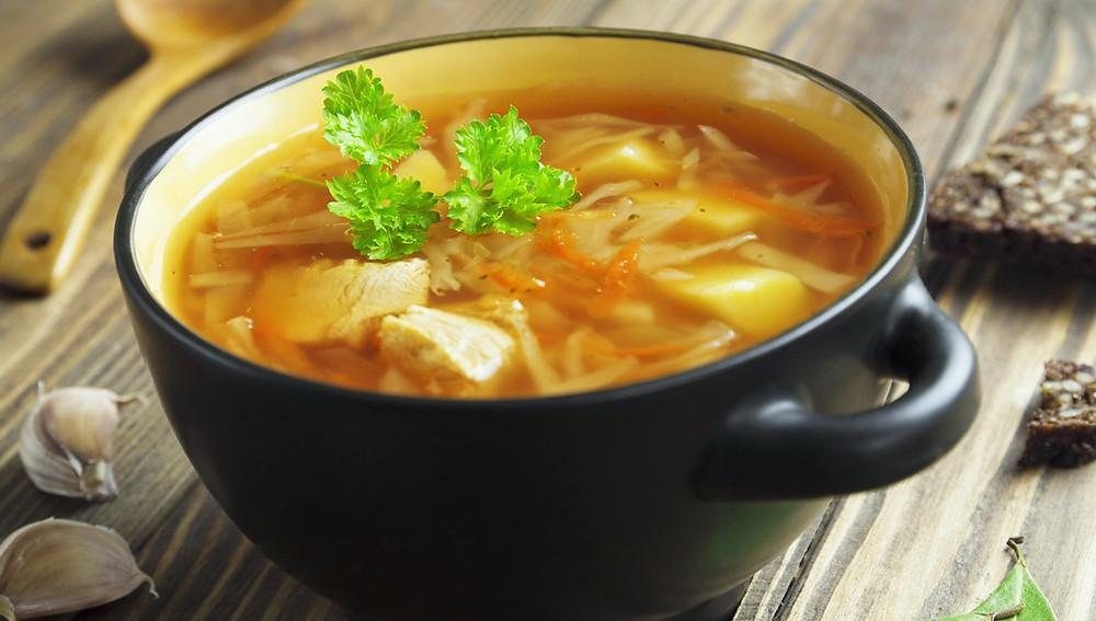 Венгерский суп из капусты