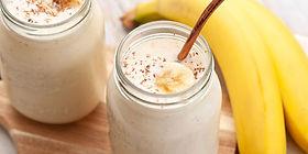 Освежающий банановый напиток