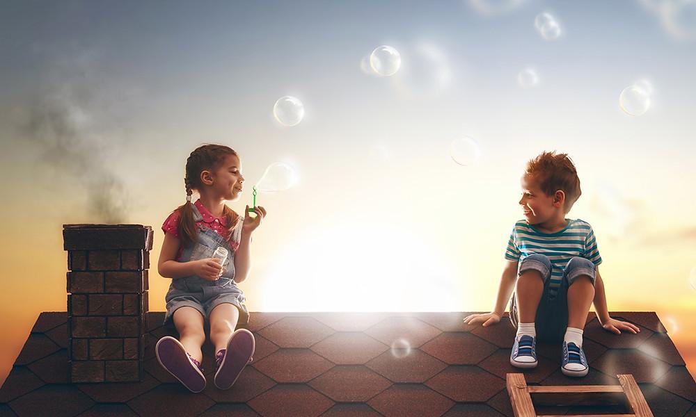 Взрослых часто беспокоят детские фантазии.