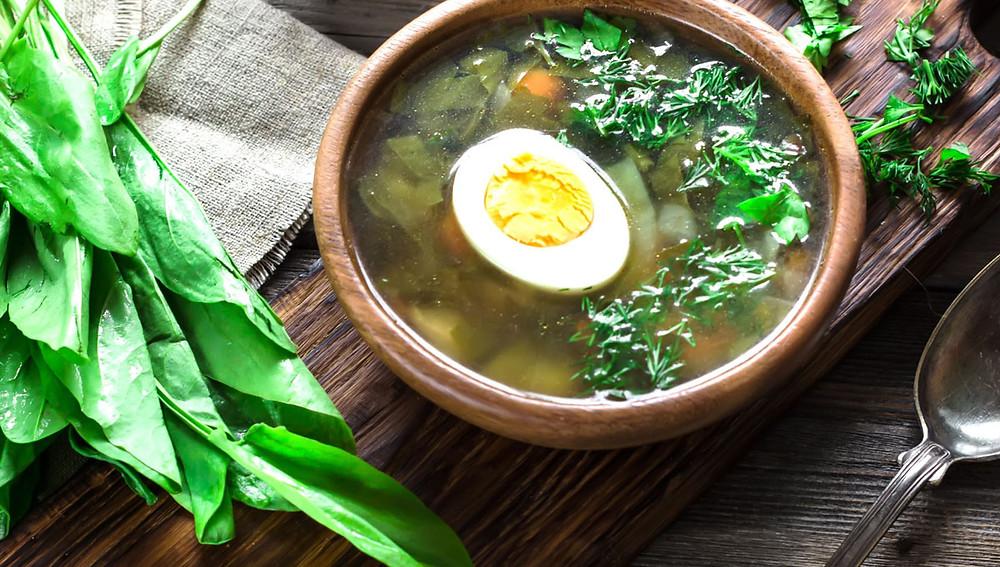 Щавель на ужин - вкусные рецепты супов и салатов