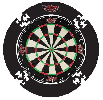 Dartboard Surround 4pce