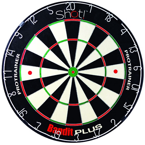 Shot Bandit Plus Protrainer Dartboard