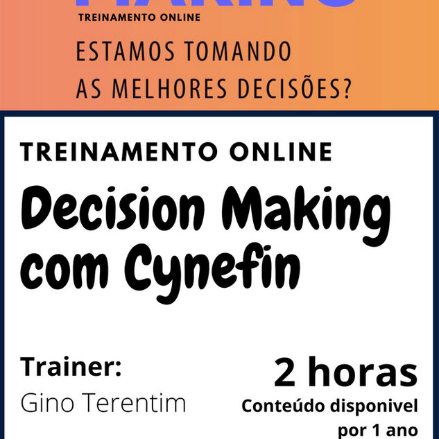 Decision Making com Cynefin