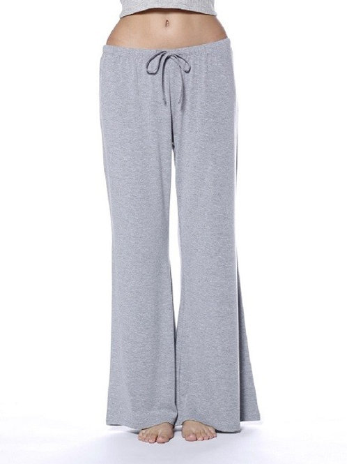 Essential Grey Wide Leg Lounge Pants