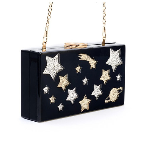 You Are A Shooting Star Box Clutch