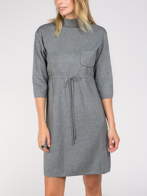 The PERFECT Minimalist Grey Sweater Dress