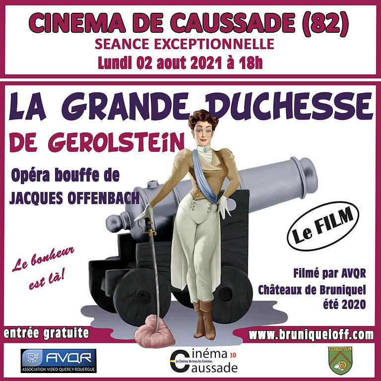 Projection au Cinéma Caussade de La Grande Duchesse de Gerolstein