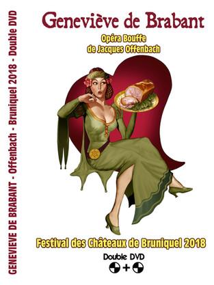 Double DVD - 2018 Geneviève de Brabant
