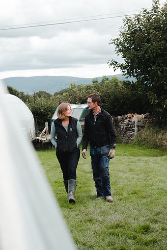 Liz and Chris, Eat Your Greens, organic veg boxes, North Wales