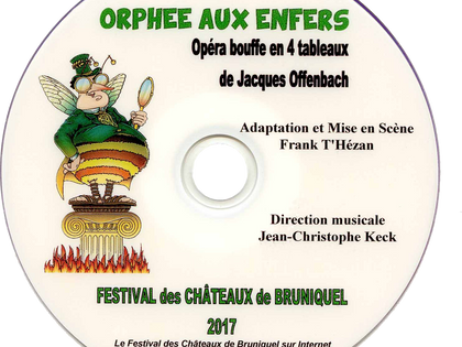 DVD simple - 2017 Orphée aux Enfers
