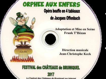 DVD simple - 2017 Orphée aux Enfers
