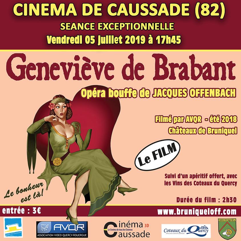 Projection au Cinéma Caussade de Geneviève de Brabant