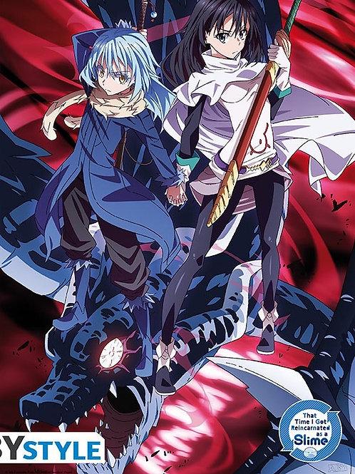 PosterMoi slime Rimuru et Shizu (52x38cm)