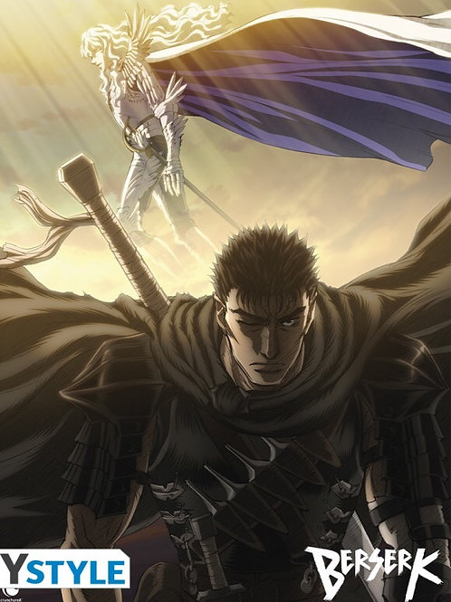 Poster Berserk Guts and Griffith (52x38cm)