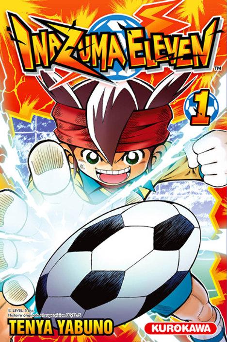 Inazuma Eleven 01 (tranche papier jaunie)
