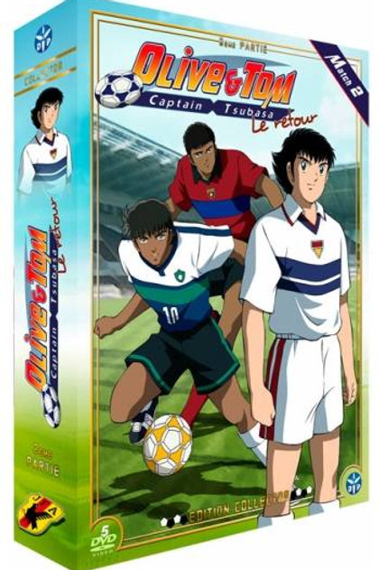 Coffret Captain Tsubasa Le retour 02 Collector (sous blister)