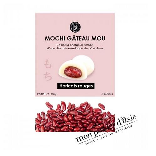 Mochi Haricots rouges 6 pièces (210g)