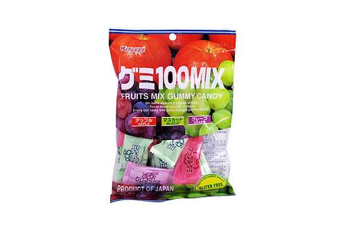 Bonbons mix (pomme, muscat, raisin) 102g