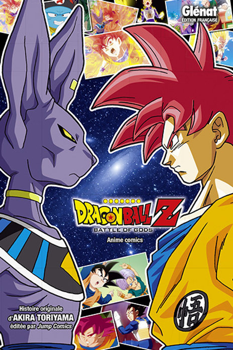 DBZ Battle of Gods Anime Comics