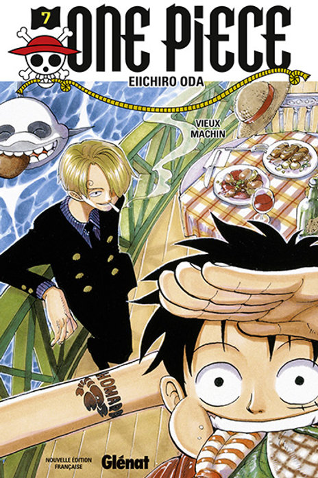 One Piece 07 édition originale