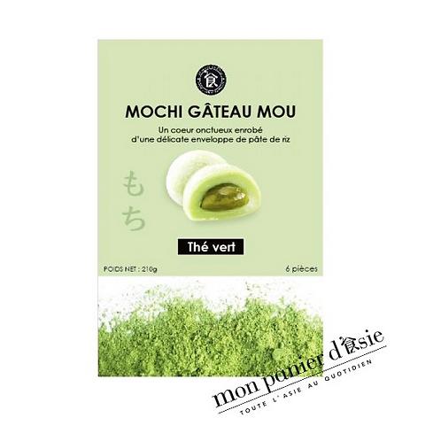 Mochi Thé vert 6 pièces (210g)