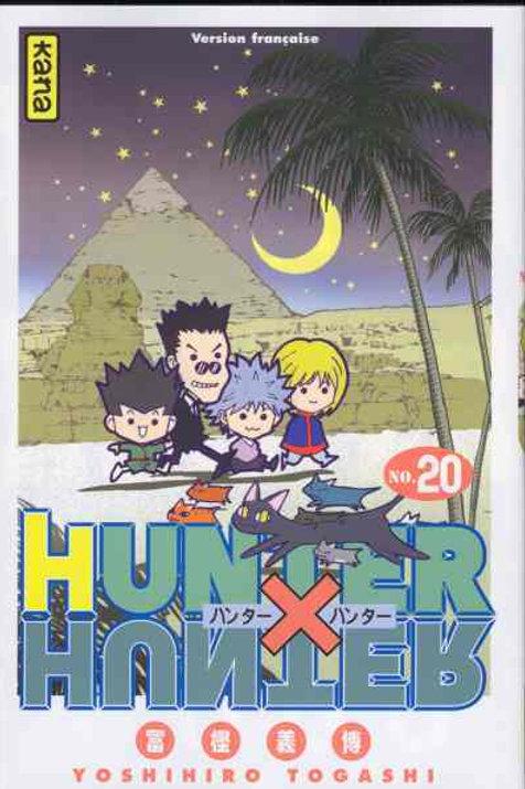 Hunter X hunter 20
