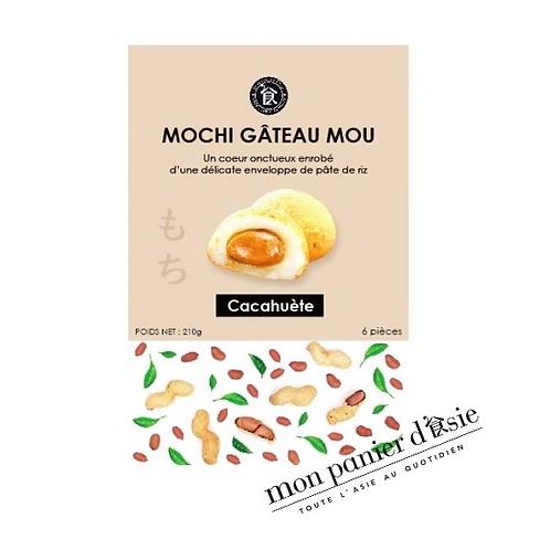 Mochi cacahuète 6 pièces (210g)