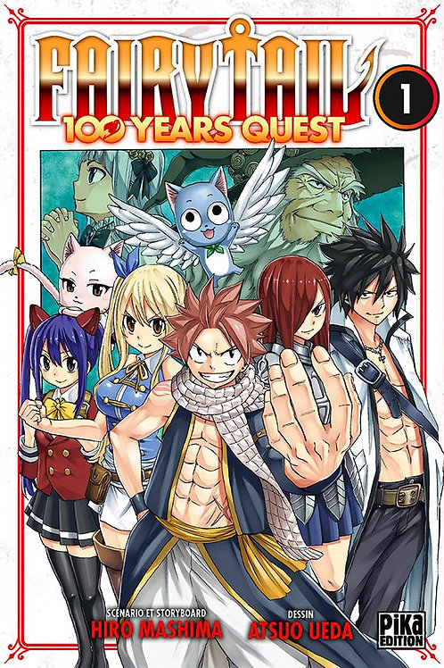 Fairy Tail 100 years quest 01