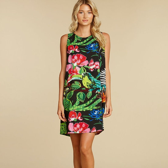 Jams World Jackie Dress- Coral Abyss