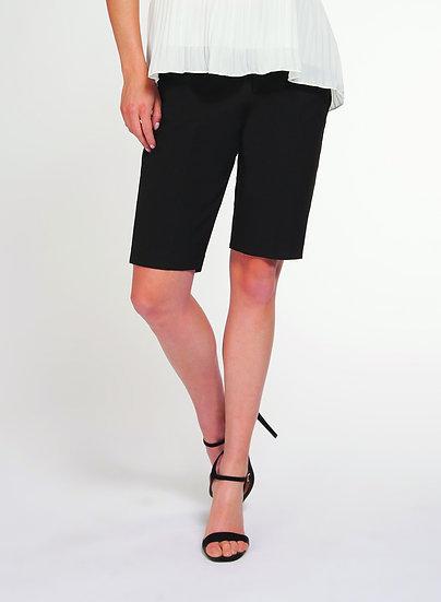 Black Tape Knee Length Short