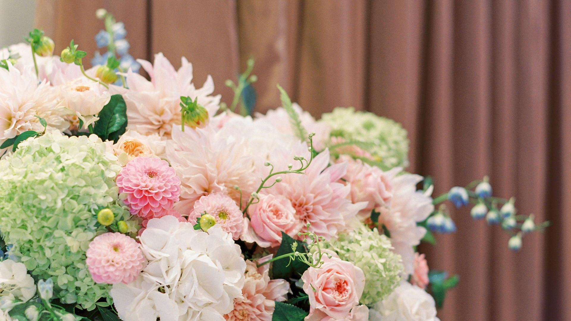 Floral Design for Summer wedding