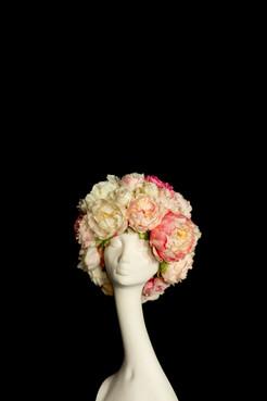 flower wig