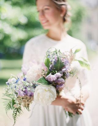 summer bridal bouquet
