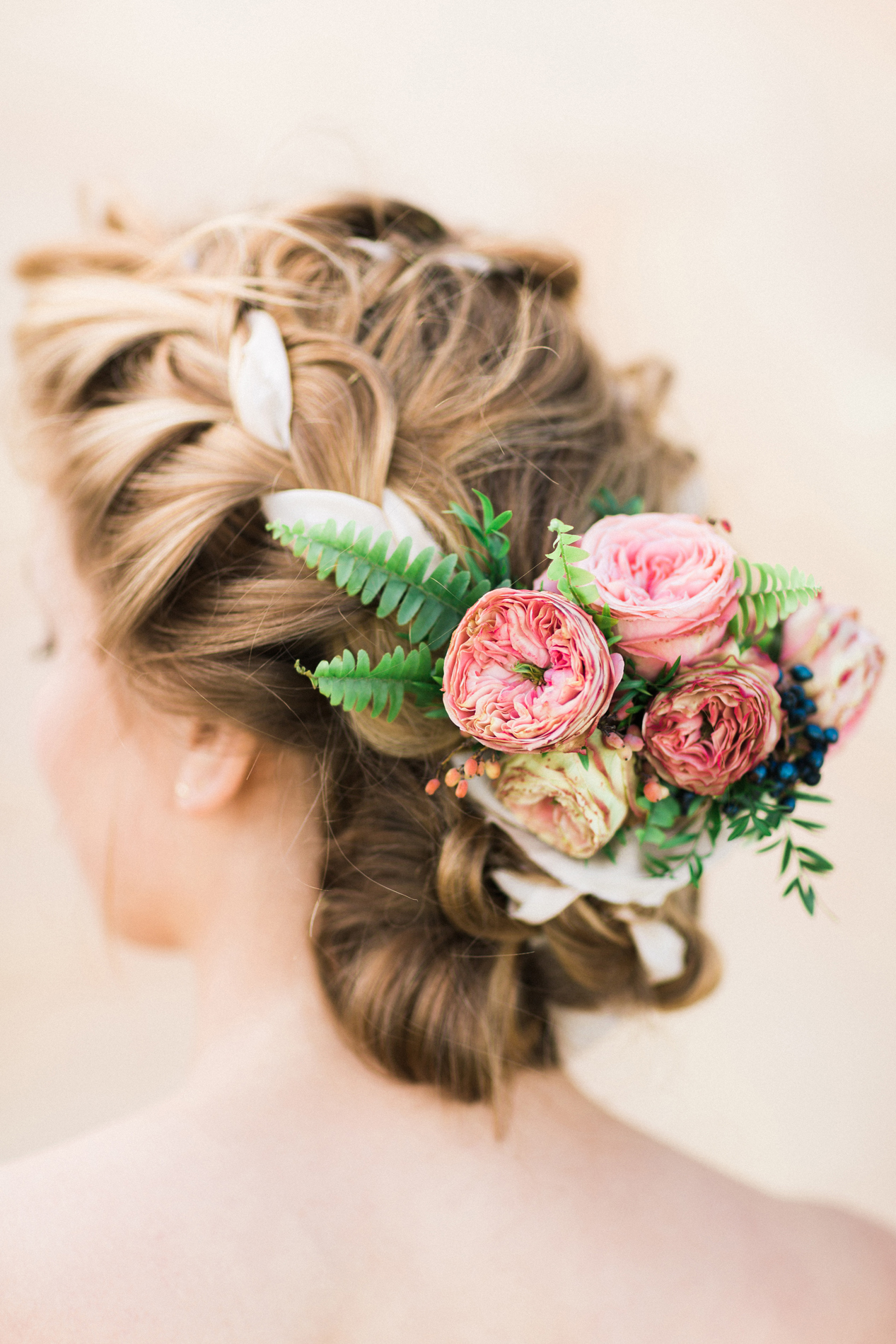 bridal hair flowers