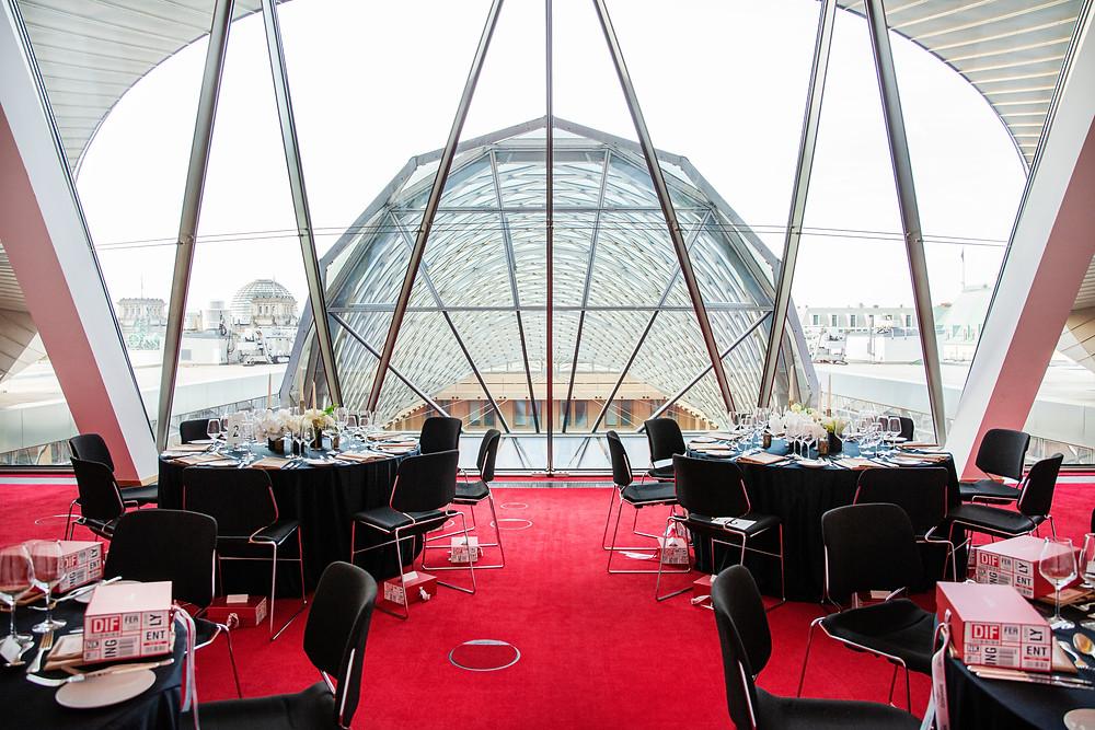 Corporate dinner in AXICA Berlin