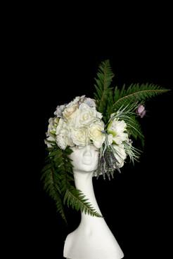 floral wig