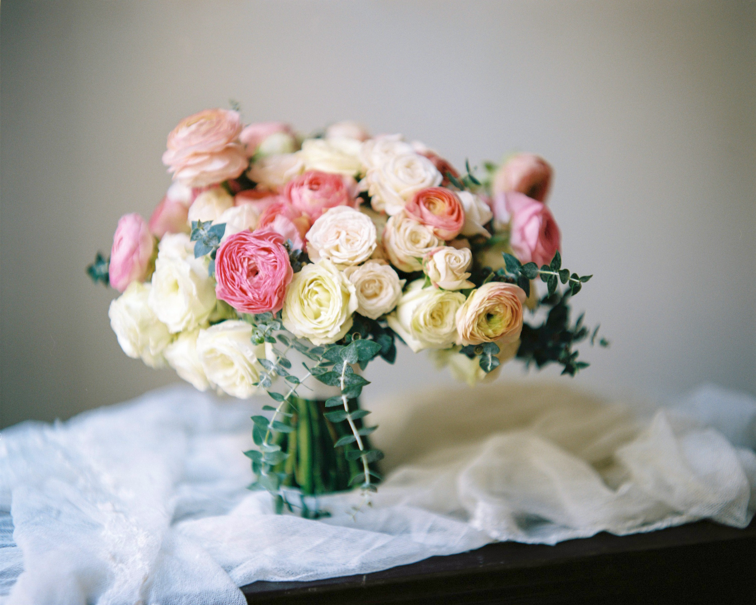 ranunculus bridal bouquet