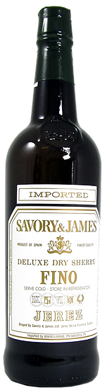 SAVORY & JAMES SHERRY & MARSALA