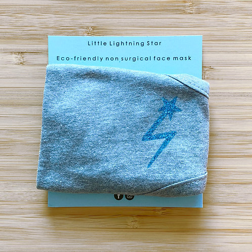 ADULTS ECO FRIENDLY FACE MASK LITTLE LIGHTNING STAR