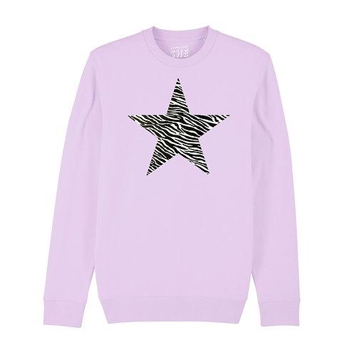 PARMA ZEBRA STAR SWEATSHIRT