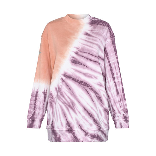 COSMIC CANYON TIE DYE RELAXED FIT SWEATSHIRT