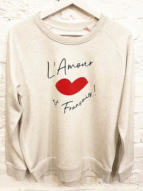 FRENCH L'AMOUR SWEATSHIRT